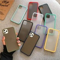 2021 Matte Cell Phone Case Clear Hard Shockproof Transparent...
