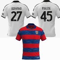 2021 2022 Parme Calcio Soccer Jerseys Buffon Cornelius Grassi Inglese Gagliolo Gervinho Karamoh Gardien de but 21 22 Football Hommes et Chemise pour enfants