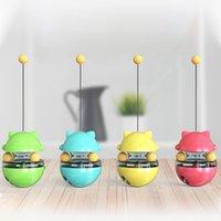 Nouveau jouet de chat interactif pour les chats Produits animaux Animaux Tumbler Ball Fournitures Fuyant Food Formation EWD7578