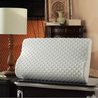 Ropa de cama de la espuma de memoria Almohada de almohada Protección Ortopédicos para dormir Almohadas Ergonómico Cervical Almohada Cómodo Cuello Proteger