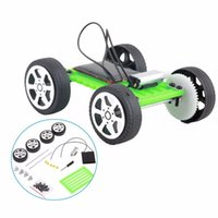 Hot 1 PCS DIY Solar Power Mini Powered Toy Kit Robot Moving Racer Niños Gadget Educativo Hobby Funny Solar Car Set Regalo