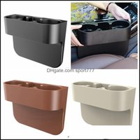 Boxes Bins Housekee Organization Home & Gardencup Holder Dual Hole Beverage Cellphone Storage Box Car Seat Wedge Truck Mount Drinks Holders