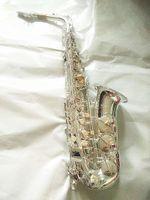 Alto Saxophone Yanagisawa W037 Профессиональный музыкальный инструмент Посеребренные EB E Flat Sax с тростними случаями дают серебристый металлический мундштук