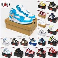 [Con scatola]Air Jordan 1 4 x Off-White shoes Jordans  jumpman OG scarpe da basket Barb High Top Ow Joint Chicago North Carolina Blu Shadow Shadow Blu Grigio Black Sneakers casual