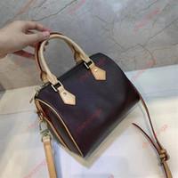 حقيبة يد رسول حقيبة السيدات أزياء محفظة أكياس دلو مع حزام الكتف