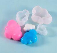Novo jantar Silicone Bolo Molde Resina Decorativa Craft DIY 3D Estereoscópico Molde de Nuvem Epoxy Resina Moldes para Jóias