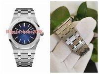 Itens quentes de boa qualidade Homens relógios de pulso 39mm extra-fino 15202IP.OO.1240IP.01 15202 aço inoxidável VK movimento de quartzo mens relógio relógios