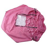 Stroller Parts & Accessories Baby Rain Cover Weather Shield Protect From Wind Snow Dust Water Proof Ventilate Clear-Breathable