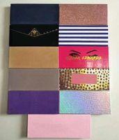 Maquillaje caliente Paleta de sombra de ojos modernos 14 colores Paleta de sombras de ojos limitadas con pincel Pink Piechadow Paleta DHL envío + regalo