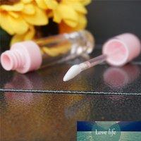 100 pcs 6.4 ml vazio cor-de-rosa labelo tube plástico lipgloss garrafa diy recipiente