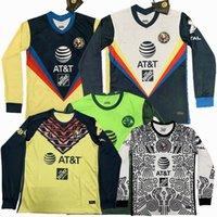2020 2021 2022 نادي أمريكا طويلة الأكمام لكرة القدم الفانيلة R.Martínez جيوفاني 20 21 كرة القدم قميص كامل