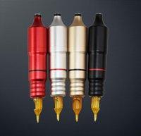 Dövme Guns Kitleri Profesyonel Kalıcı Makyaj Kaş Güzellik Dudaklar Kartuşları İğneler Makinesi Kalem Güçlü Motor Küçük Isı 3 Renkler
