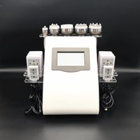 ABD Depo Ultrasonik Liposuction En Son Sürümü 40 K Kavitasyon RF Vakum Bipolar RF Makinesi Zayıflama Güzellik Ekipmanları Ücretsiz DHL