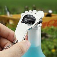 Metallfuß, Fußplatine, Sohle, Flaschenöffner, Schlüssel, Multifunktionsschlüsselring