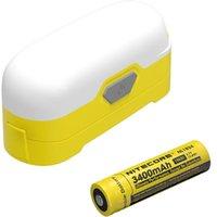 Lampes de poche Torches 2021 Nitecore Night Lighting LR30 CRI LED Lanterne + 18650 Batterie rechargeable Pographie Soft Box Pro Dual Light magnétique