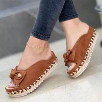Sandals Women Sweet Summer Shoes Low Heels Slip On Flat Female Slippers Casual Chaussure Femme Beach