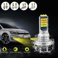 1 paire voiture LED LED FORELLUM APPALE DE PRODUCTION AUTO AUTO-FOGUT Lampe anti-brouillard Haute journée lumineuse Pièces de voitures lumineuses Lampe de moto étanche