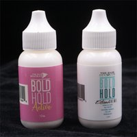 38ml Branco WIl Waterproof Clue Invisible Colas Adesivas Longas Longas Para Peruca De Laço / Toupee / Extensão Do Cabelo 6 Pcs