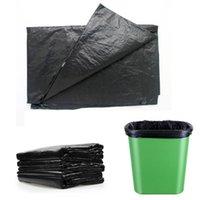 (A181-02N) 100x Müllsäcke Black Home Einweg Abfallbeutel Kunststoff Müll Müllbeutel
