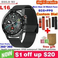 Designer Watch Marque Montres Luxe Watch IP68 Imperméable Multiple Sports Présence cardiaque Prévisions météo Fitness Smart vs L13 GT2