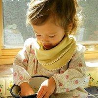 Baby Bibs Burp Cloths 20 colors Infant Saliva Cloth Bandana Cotton INS Triangle Bibs Baby Saliva Bibs Pinafore Newborn Burp Cloths RY2