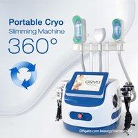 Grasa de crioterapia de vacío fresco de alta calidad congelada pendiente de mano adelgazante para adelgazar la máquina de belleza cryo portátil aprobado