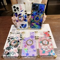 fashion Ring Stand phone cases for iphone 12 pro max 13 mini 11ProMax XSMAX X XS XR7P 8P 7 8 PLUS Blue Ray protection case designer cover with card holder