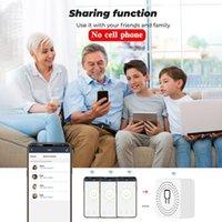 Smart Home Control 16A Mini WiFi التبديل الموقت التبديل اللاسلكي عن بعد Google Alexa أتمتة وحدات ل T U6P9
