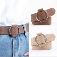 Belts Fashion Womens Designer Round Casual Ladies For Jeans Modeling Without Buckles Leather Belt Cinturon Mujer