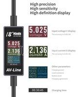 Cep Telefonu Tamir Araçları 18 Kindinds AV-Line Hızlı Şarj Gerilim Fırça Test Cihazı 1.0 M PAD POD Tipi C Akımı CH Android Şarj Veri Hattı Decede