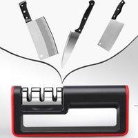 Manuale multifunzione Manuale del coltello Fase Acciaio Diamante in acciaio Coltello rivestito in ceramica Affilatrice Cucina Affilatura Utensili da cucina Regalo Spedizione gratuita HWD5248