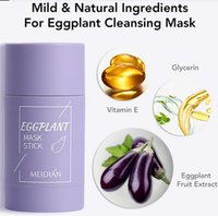 Deep Cleaning Deep Cleaning Face Mask Green Tea Oil Control Eggplant Remove Blackhead Masks Stick Moisturizing Anti-Acne Shrink Pores Skin Care