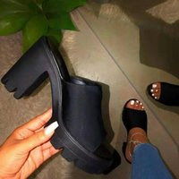 Dress Shoes 2021 Summer High Heels Sandals Sexy Ankle Strap Open Toe Party 12CM Platform Gladiator Women Plus Size 35-42