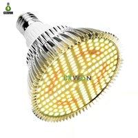 20W 184leds LED Grow lights Full Spectrum+660nm+IR740nm 85-265V E27 Plant Light bulb with CE FCC ROHS