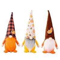 Party Supplies Zbiór Festiwal Dekoracji Bez twarzy Gnome Pluszowe Lalki Dziękczynienia Halloween Home Elf Ozdoby Dzieci Prezenty CS10