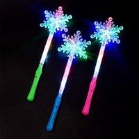 Party Decoration Flashing Lights Up Glow Sticks Magic Star Wand Concert Xmas Halloween Kids Gift Toy Glowing Fairy Pentagram Flash Stick