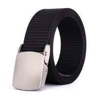 Belts Outdoor Quick-dry Sports Nylon Belt Canvas Pants Military Training For Tactical Men's Casual