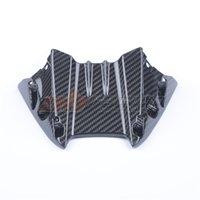 Motocicleta Preto sob os painéis de barriga Painéis Painéis Winglet para Yamaha YZF R6 2017 2018 2019 2020 Fibra de Carbono Completa 100% Swill