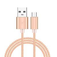 Cabos de telefone celular USB 3.1 Tipo C Data Sync Cable de carga para ZTE Nubia M2 Play / Z17 Mini / Z11 Minis NX549J