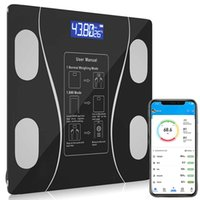 Bluetooth Body Fat Scale BMI s Smart Wireless Digital Bathroom Weight Composition Analyzer Weighing