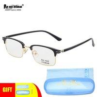 Mode Sonnenbrillenrahmen Retro Brillen Rahmen Männer Augenbraue Gläser Legierung Tr90 Tempel Rui Hao Brillen Marke Hohe Flexibilität Optische Specta