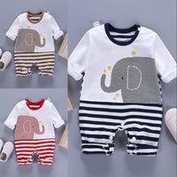 Baby Rompers с длинным рукавом комбинезон новорожденного одежды весна осень падами детская девушка мальчик одежда 1651 B3