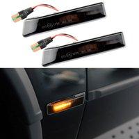 Emergency Lights 2Pcs LED Car Fender Light Sequential Turn Signal Dynamic Side Marker Lamp For 3 Series E36 M3 1997-1999 X5 E53 1999-2006 12
