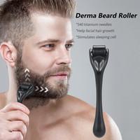 Darsonval DRS 540 Bart Derma Roller Titan für Haarwachstum Mesoroller für Gesichtsmaschine Hautpflege Microniddle Nadelwalze