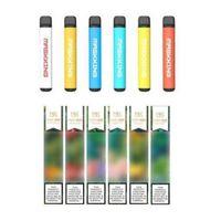 Maskking High Pro Disable Vape Pen Pod Starter Kit MK E Cigarro 1000 Puffs Russian / Inglês Verion Air Bar Bang XXL