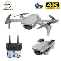 E88 drone 4k HD Drone With Dual camera WiFi 1080p real-time trans FPV follow me rc Quadcopter 210915