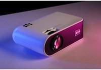 AUN MINI Projector W18 2800 Lumens 854x480P Optional Wireless Sync Display For Phone LED Proyector for 1080P 3D Video Beamer