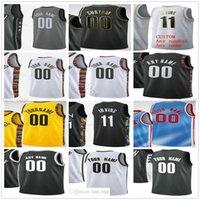 Personnalisé imprimé 11 Kyrie 7 Kevin Irving Durant 13 Harden Joe 12 Harris Brooklyn Blake 2 Griffin Nets Man Femmes Enfants Basketball Maillots