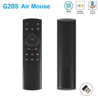 G20S 2.4G Wireless Air Mouse Gyro Voice Control Sensing Universal Mini Keyboard Remote Control For PC Android TV Box