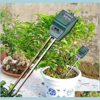 Arrival 3 In 1 Ph Tester Soil Detector Water Moisture Humidity Light Test Meter Sensor For Garden Plant Flower Cxah